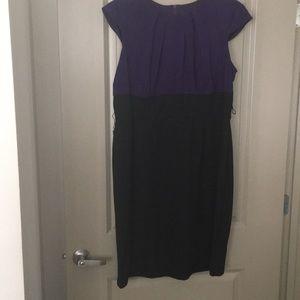 Dresses & Skirts - Purple and black dress.